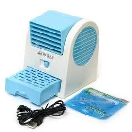Mini Aire Acondicionador Ventilador Portatil 2 Turbinas