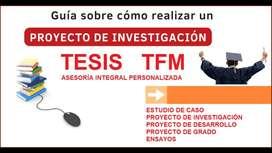 TESINA – ASESORÍA SOBRE ORGANIZAR LOS RESULTADOS DE INVESTIGACIÓN LOS DESCRIPTIVOS, POR VARIABLE ESTUDIO PROYECTO TESIS