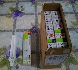 LAMPARA BAJO CONSUMO26 W  OSRAM, CODIGO 830, LUZ CALIDA, 15 UNIDADES.
