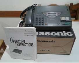 Telefono y Fax Panasonic KX-F700