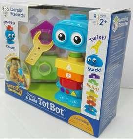Juguete Educativo Tipo Robot Niños Pequeños