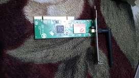 Placa de wifi pc y notebook y microprocesador