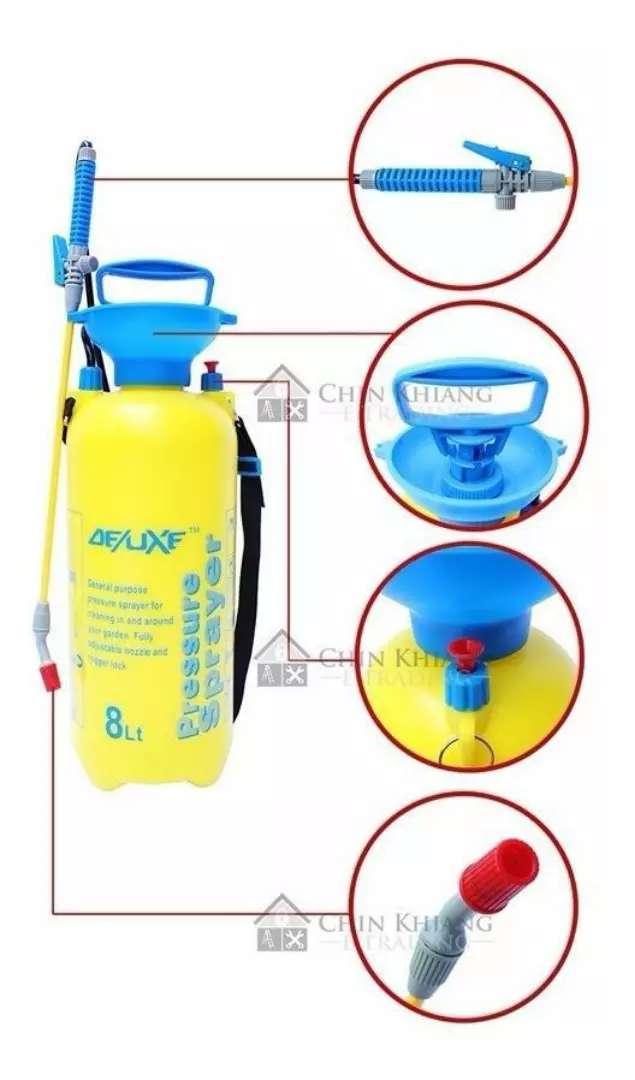 Bomba Fumigadora de mano de 8 litros 0