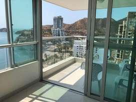 Apartamento Rodadero Santa Marta Frente al mar.