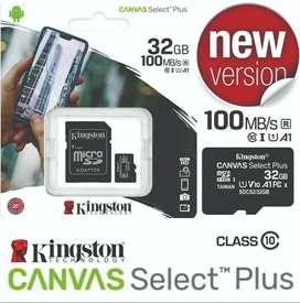 Memoria Micro SD 32gb - Canvas Plus - Kingston