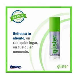 Refrescante bucal Glister Amway