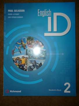 Libro English ID 2 Totalmente Nuevo con su Workbook!!!