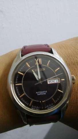 Reloj citizen automatico corazon abierto