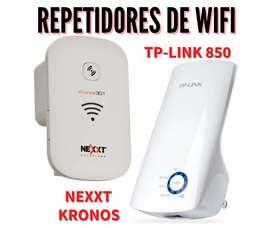 No tenes buena señal de wifi? soluciónalo con estos repetidores. Con garantía y entrega a domicilio.
