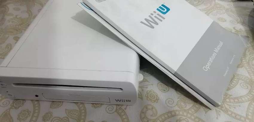 WiiU + control + disco duro con juegos + accesorios + hack para jugar online 0
