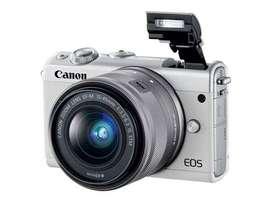 VENDO O PERMUTO  Cámara Canon Eos M100 Sin Espejo Digital blanco
