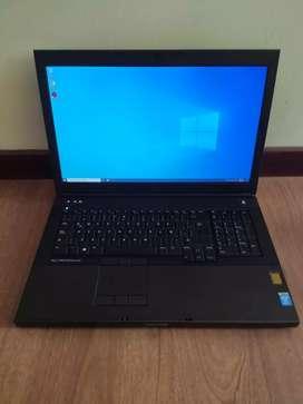 Dell core i7  precisión M6800 8gb de video dedicada  16 gb de RAM