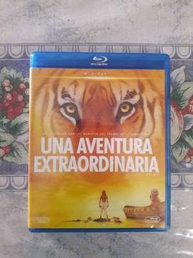 Una Aventura Extraordinaria Blu-ray