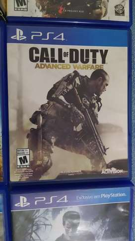 CALL OF DUTY ADVANCE WARFARE PS4 como nuevo