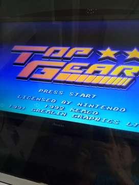 Cassett de Super Nintendo juego multijuego 16 en 1 n 64