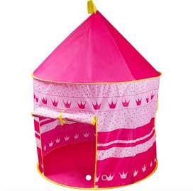 Castillo princesas grande portable carpa armable completo fácil rápido y ligero
