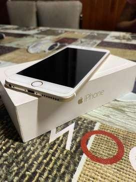 Vendo iPhone 6plus de 128gb con accesorios (cargador y auriculares originales)