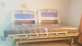 Cama Electrica Hospitalaria con colchon antiescara