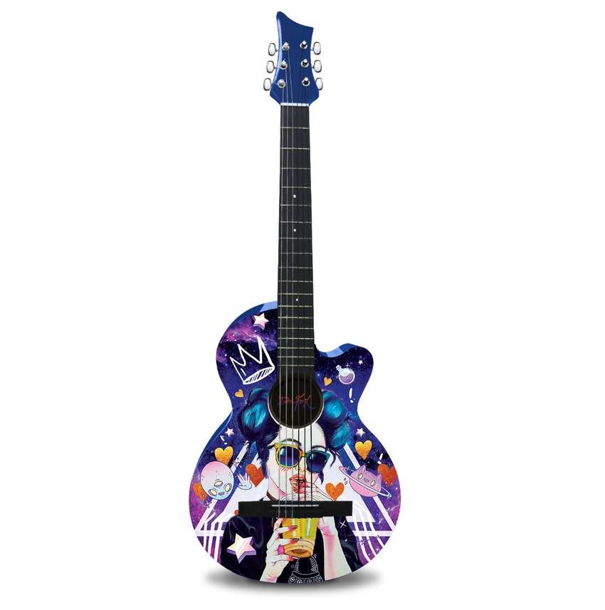 Guitarra Acústica Prince Dr. Fox. 0
