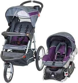 Coche + silla carro baby trend expedition
