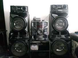 Equipo de sonido Sony Genezi GTR 888 mas mesa
