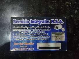 Técnico en sistemas de seguridad.