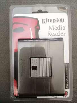 Multilector de tarjetas de  memoria. Kingston