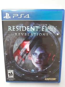 Resident Evil Revelations Juego Ps4 Nuevo y Sellado