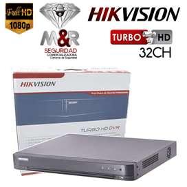 DVR 32 CANALES HIKVISION 1080P