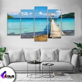 cuadros decorativos paisajes playas