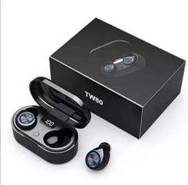 TW80 audífonos Bluetooth