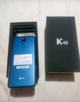 Célular nuevo de paquete LG k40 de 32gb
