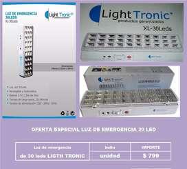 Oportunidad super oferta luz de emergencia de 30 led
