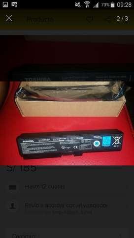 Batería Laptop Toshiba Oferta PA 3817U