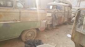 3 vollswagen pickups y kombi