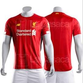 Camiseta Original Liverpool local 19-20 Mohamed Salah Firmino Mane futbol 19 - 20
