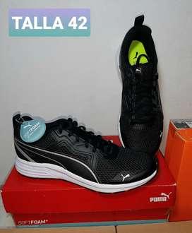 Remate!!! Zapatillas Puma pure Jogger talla 42
