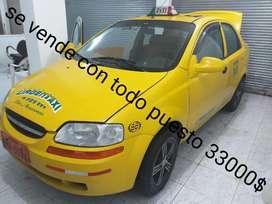 Se vende taxi de la cooperativa 16