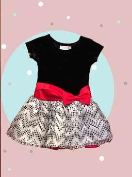 Vestido niña Bonnie Baby Talla 18 meses - usado 2 veces