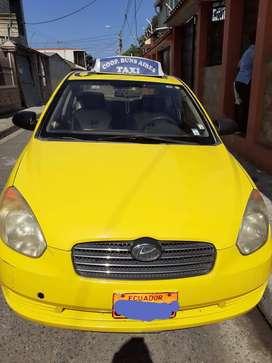 Se vende taxi con linea en cooperativa buenos aires