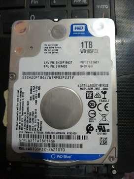 HD 1tb laptop
