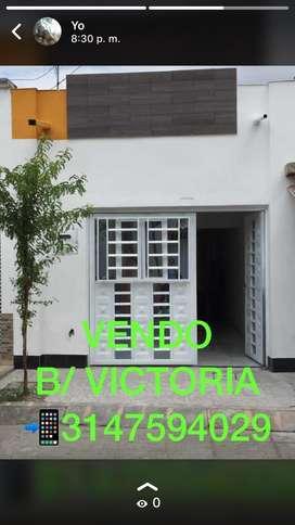 VENDO CASA B/ VICTORIA BIEN UBICADA