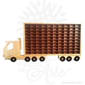Camión repisa para 100 carros - Precio COP