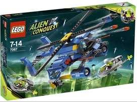 Lego Alien Conquest Space Jet-copter Encounter 7067