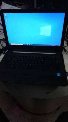 Notebook HP Windows 10, DISCO SOLIDO NUEVO 240GB, CORE I3