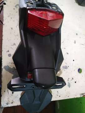 guardabarro de moto klx