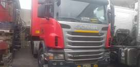 Scania remolcador  G410 6x4 2012