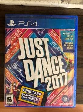 Juego de PS4 Just dance 2017