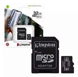 Memoria micro SD 32GB Kingston clase 10