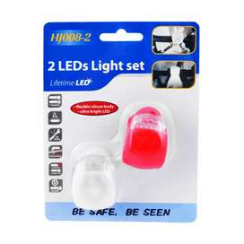 Dos luces led para bicicleta